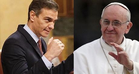 Sanchez y su mision anticristiana en España