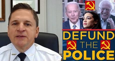 Sheriff de Pensilvania abandona Partido Democrata por su agenda socialista