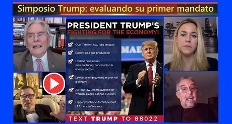 Symposium Trump: evaluando su primer mandato