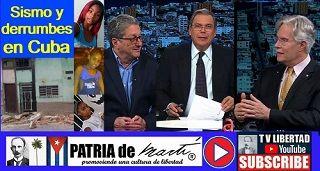 Sismo y derrumbes en Cuba