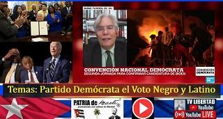 Temas: Partido Demócrata el Voto Negro y Latino - Convención Demócrata