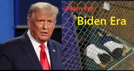"""Trump a Biden: """"¿quién construyó las jaulas, Joe?"""""""