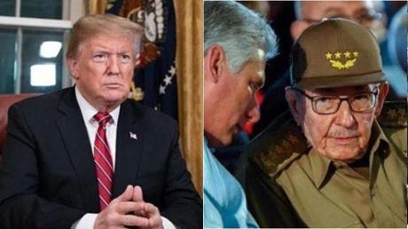 Trump comprometido con democracia en Cuba