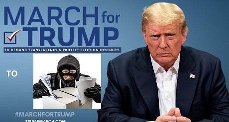 Trump convoca a marcha contra el fraude el 6 de enero