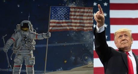 Trump el toro enamorado de la luna