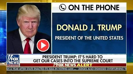 Trump on accepting Biden win