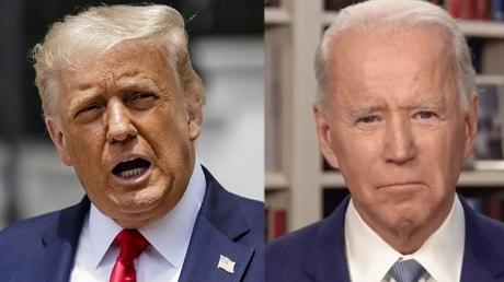 Trump responde comentarios racistas de Biden