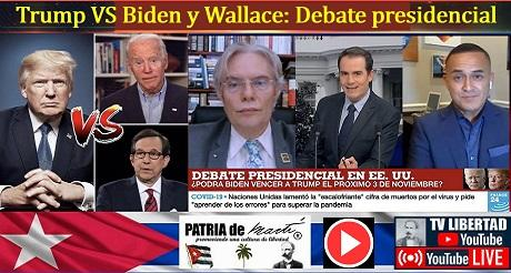 Trump vs Biden y Chris Wallace: Debate presidencial