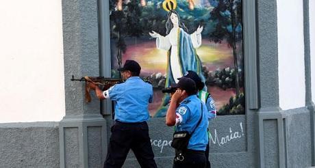 Turbas paraestatales sandinistas amplian guerra a la Iglesia