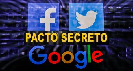 Twitter Facebook Google bajo la lupa