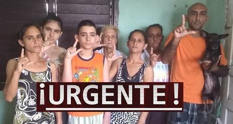 Urgente ASILO POLITICO para SALVAR familia Miranda Leyva