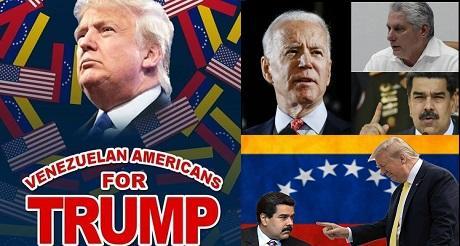 Venezolanos deben votar por Trump