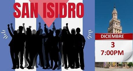 Vigilia pacifica Movimiento San Isidro Torre de la Libertad