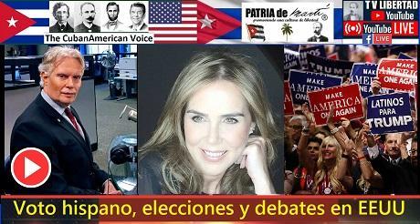 Voto hispano elecciones y debates en EEUU