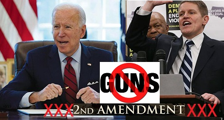 Biden guerra de izquierda contra 2da enmienda