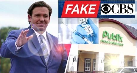 CBS presenta información fraudulenta sobre programa vacunas FL