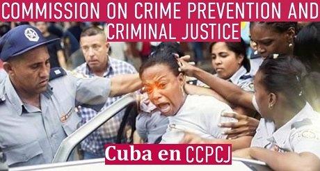 Castrismo en comision penal de la ONU