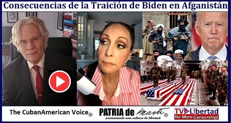 Consecuencias de la Traicion de Biden en Afganistan