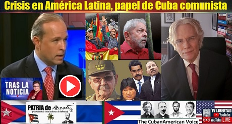 Crisis en America Latina papel Cuba comunista