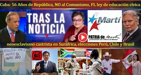 Cuba 56 Anos de Republica NO al Comunismo FL ley de educación civica