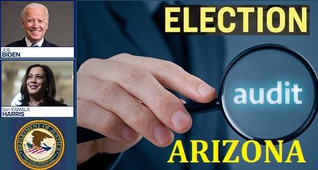 DOJ Biden Harris intenta detener auditorIa votos de Arizona
