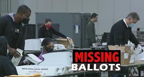 El condado de Fulton admite que faltan documentos de votacion