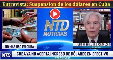 Entrevista Suspension de los dolares en Cuba