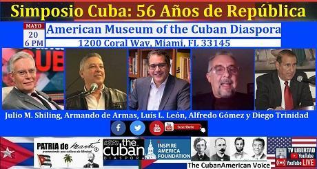 Invitación Simposio Cuba: 56 Años de República