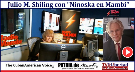 Julio M Shiling con Ninoska en Mambi