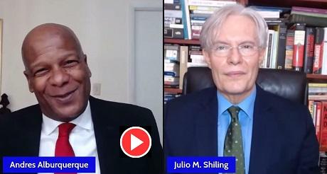 Julio M Shiling en Enfoque Ciudadano con Andres Alburquerque