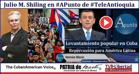 Levantamiento Popular en Cuba y Repercusion para America Latina