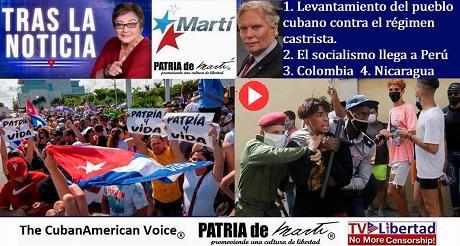 Levantamiento del pueblo cubano Peru Colombia Nicaragua