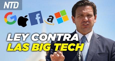 Ley de FL luchara contra Big Tech defendera libertad de expresion