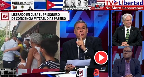 Liberan prisionero político Mitzael Diaz Paseiro