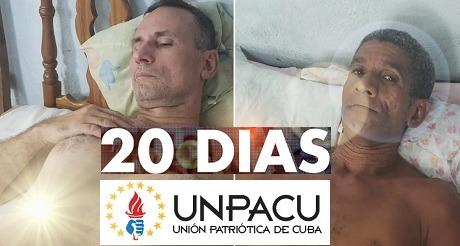 Lista de huelguistas UNPACU