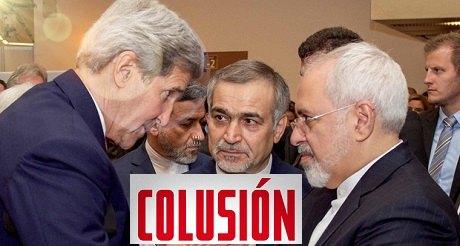 Medios de comunicacion ignoran colusion Kerry con Iran