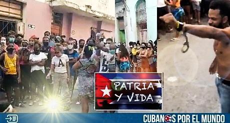 Movimiento San Isidro y vecinos desafian el castrismo