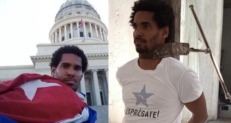 Otero en huelga de hambre