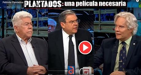 Pelicula Plantados Julio M Shiling y Angel de Fana en A Fondo con Juan Manuel Cao