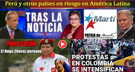 Perú y otros países en riesgo en América Latina