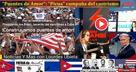 """""""Puentes de Amor"""": """"Picua"""" campaña del castrismo contra el embargo"""