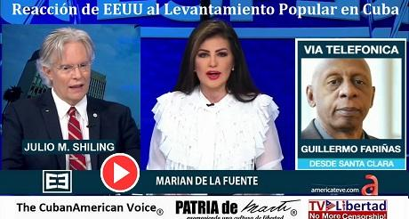 Reaccion de EEUU al Levantamiento Popular en Cuba