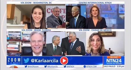 Relacion de AMLO con Biden y su Respaldo a Dictadura Cubana