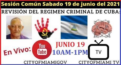 Revision del regimen criminal de Cuba