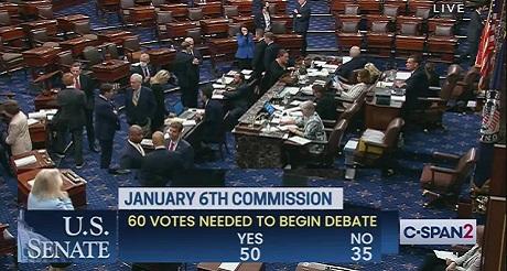 Senado bloquea teoria de conspiracion democrata enero 6