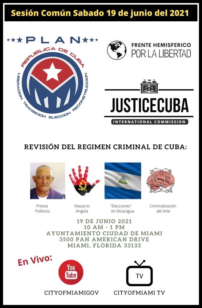 Sesion comun sabado 19 junio 2021