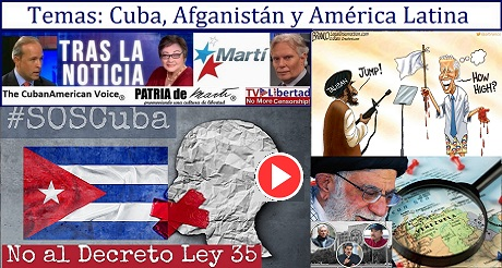 Temas Cuba Afganistan y América Latina