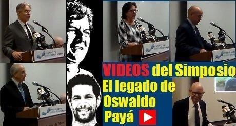 Videos del simposio El legado de Oswaldo Paya