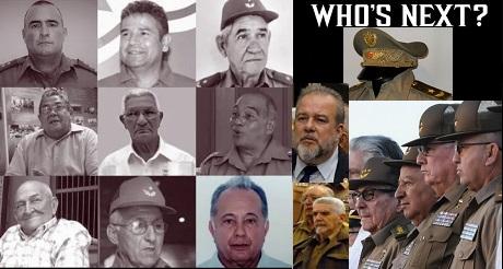 muere un noveno militar cubano de alto rango
