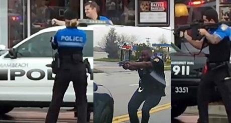 reporte La policia no dispara mas a los negros